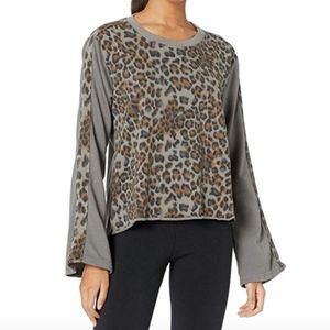 HARD TAIL FLARE SLEEVE PULLOVER LAUNDERED COTTON